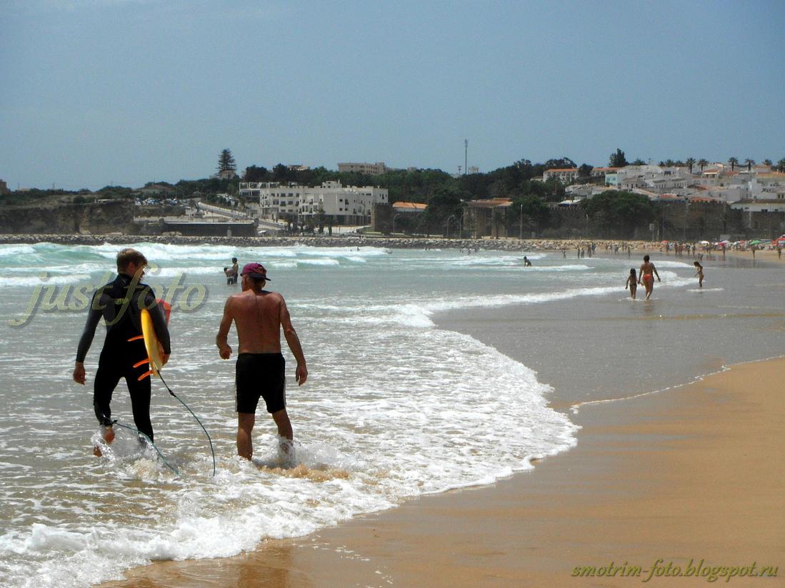 Серфинг в Лагуше фото