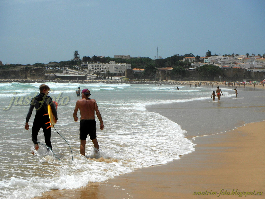 Серфинг в Лагуше