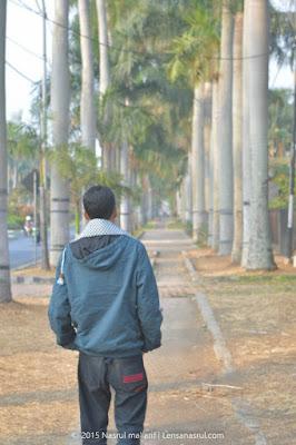 Jalan besar Ijen Malang