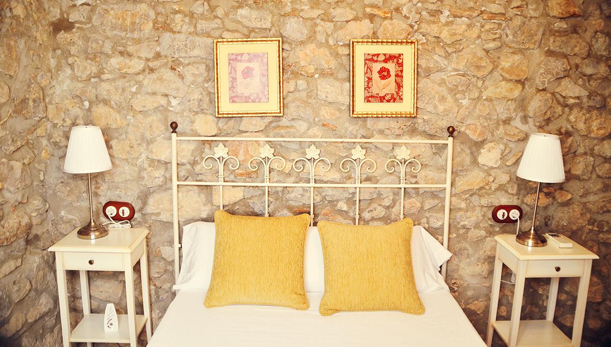 Rustic Med Bedroom in Spain