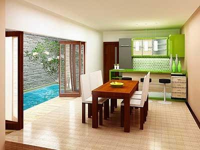 desain ruang makan kecil modern   desain properti indonesia