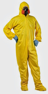 Walter H White Hazmat suit
