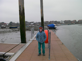 floating pontoon at emsworth inlet