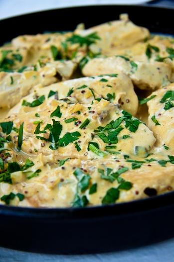 Creamy Dijon Chicken - Cook'n is Fun - Food Recipes, Dessert, & Dinne...