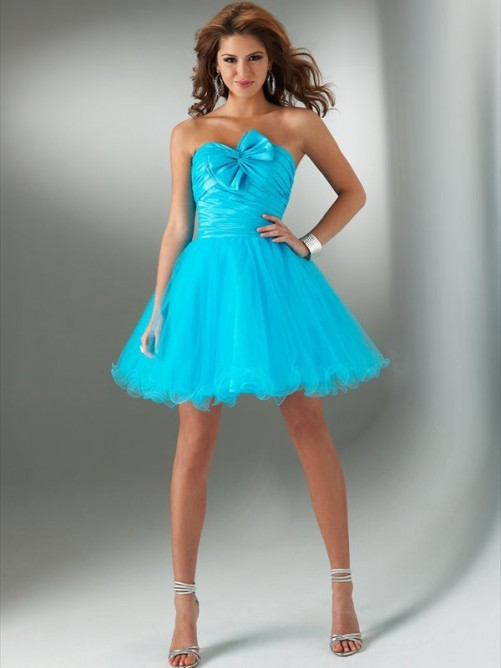 Silver chiffon bridesmaid dress
