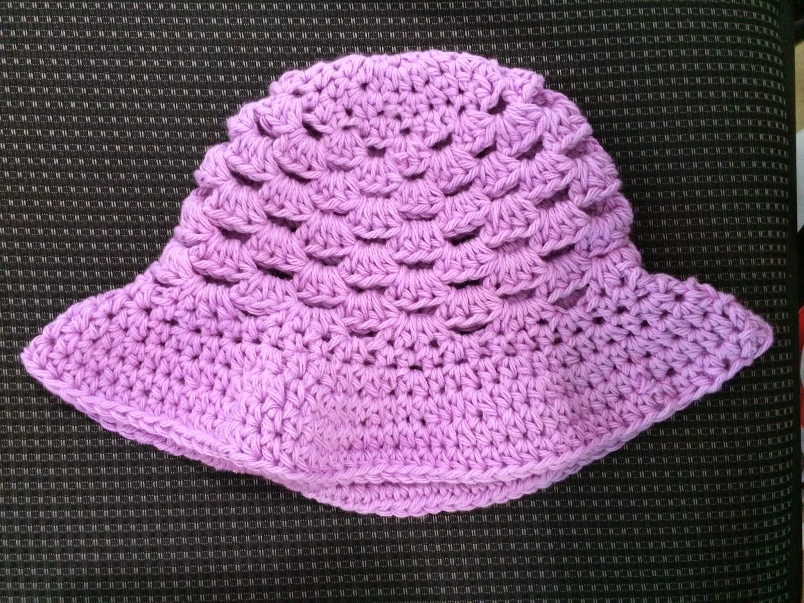 Not My Nanas Crochet!: Cluster Stitch Crochet Cotton Baby ...