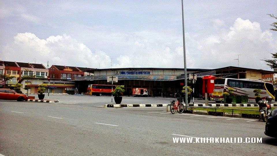 Bandar Pontian Johor, Terminal Bas Pontian