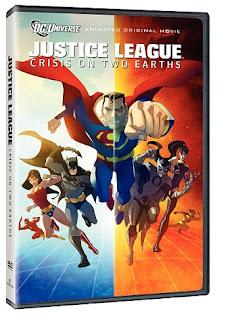 DC Comics Liga de Justicia Crisis en Dos Tierras DVDRip