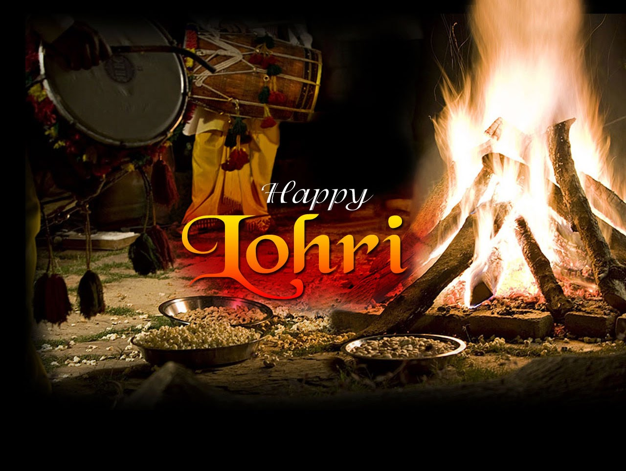 Happy Lohri 2014 SMS, Quotes, Punjabi SMS, Wallpapers ...