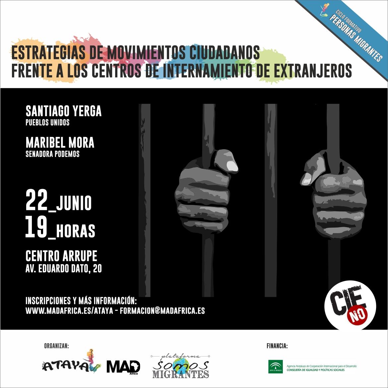 MESA REDONDA: ESTRATEGIAS DE LOS MOVIMIENTOS CIUDADANOS FRENTE A LOS CIEs.