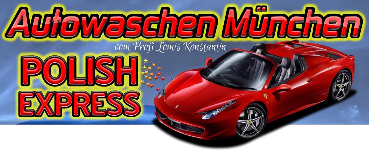 Auto waschen München vom Profi