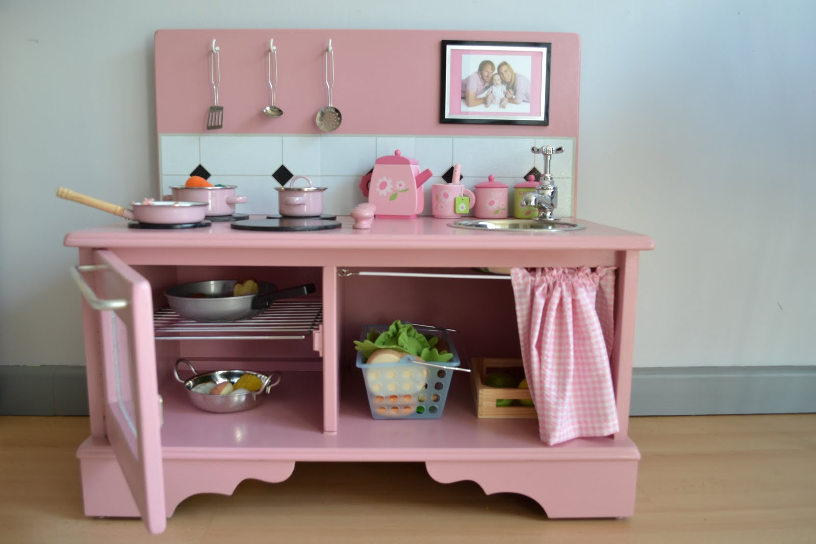 Childrens Wooden Kitchen Furniture Crafts Handmade Wooden Play Kitchen Cocinita De Madera Hecha A