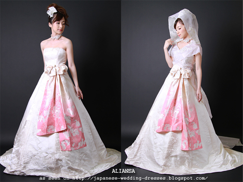 Bridal Gowns Japan : Japanese wedding dresses style guide