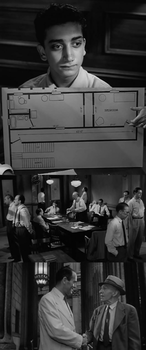 """the analysis of the movie 12 angry men The movie """"12 angry men"""" focuses on a jury's deliberations in a capital murder case the jury is sent to begin deliberations in the first-degree murder trial of an 18-year-old boy from the slums accused of stabbing and killing his father."""