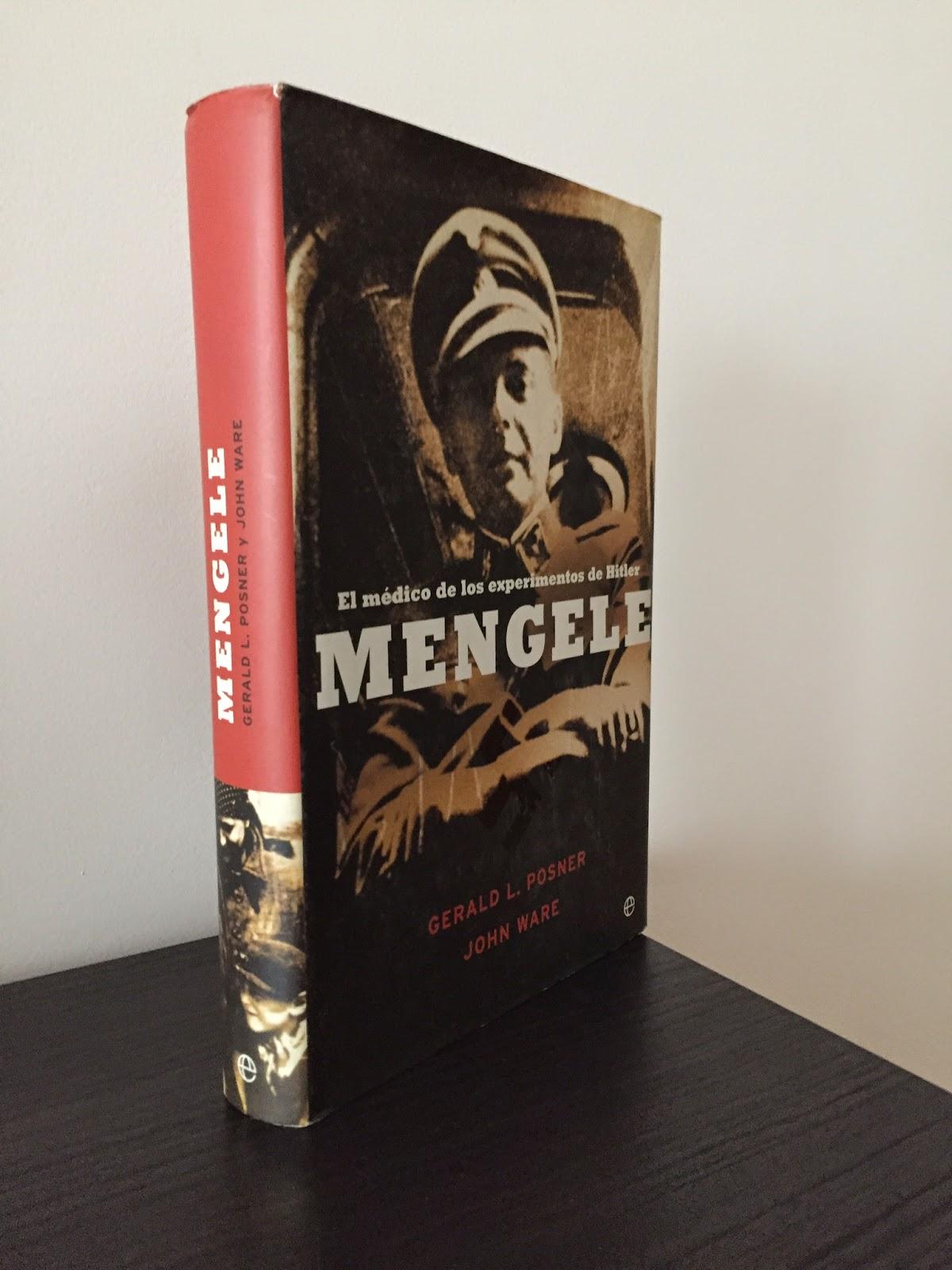 Mengele, Libros bélicos, Segunda guerra mundial