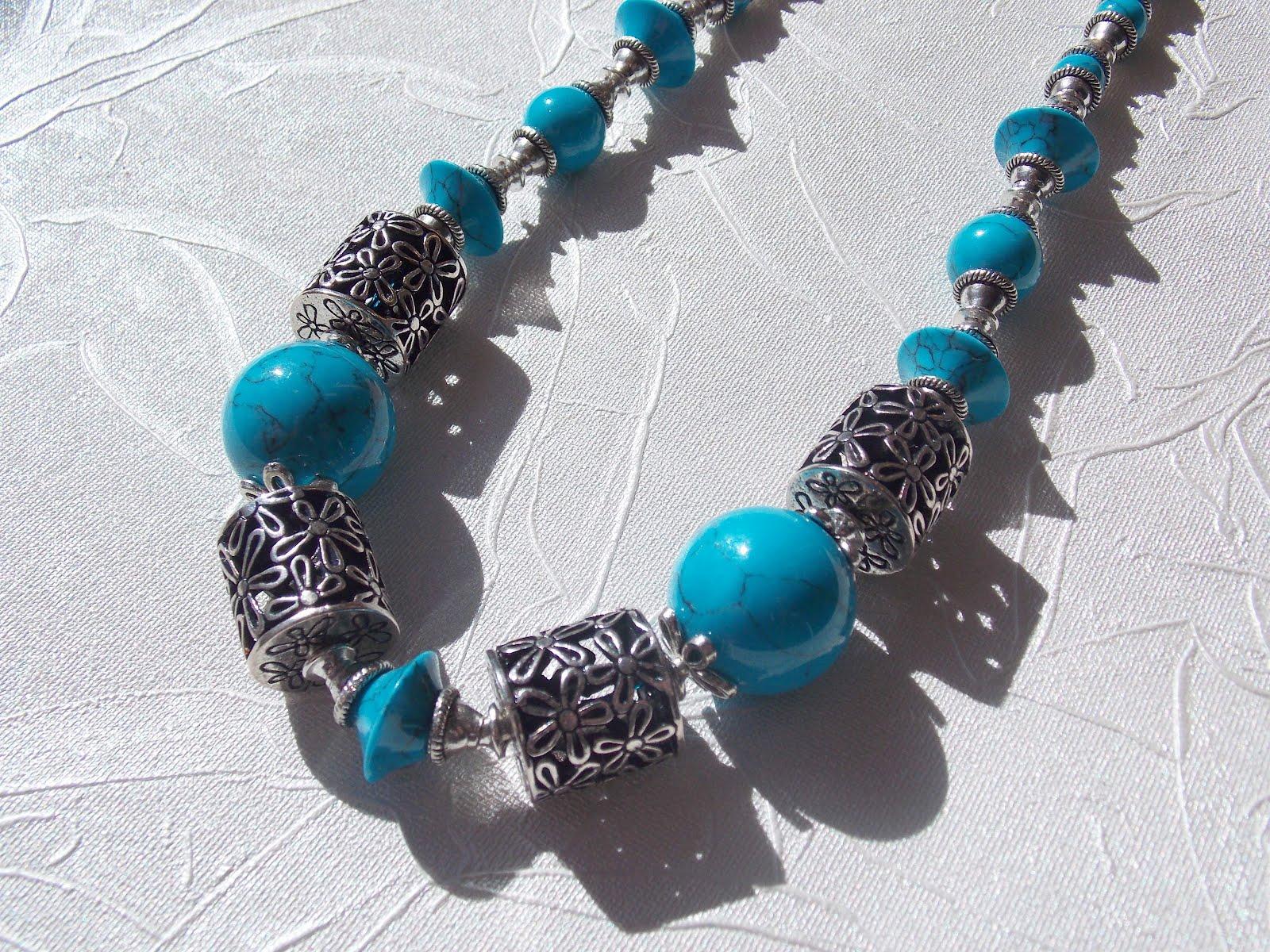 Ожерелье из бирюзы своими руками