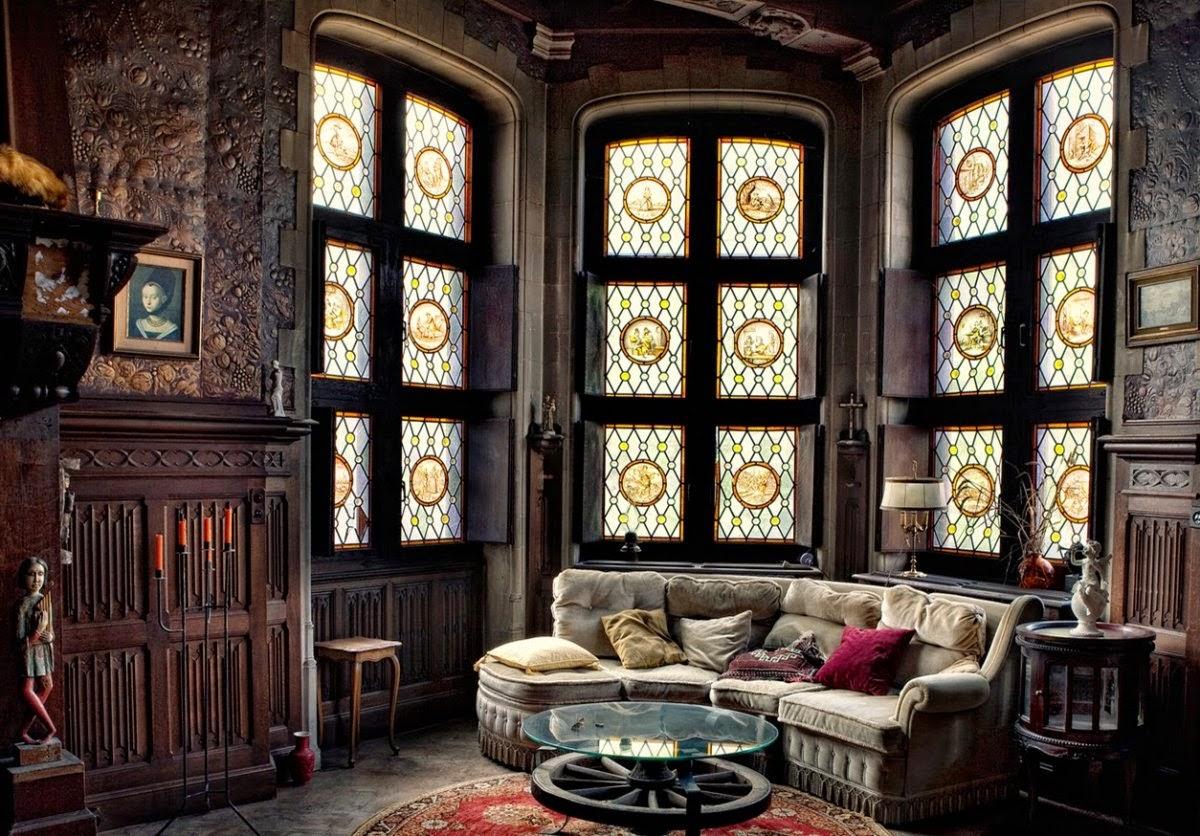 Victorian Gothic Home Interior