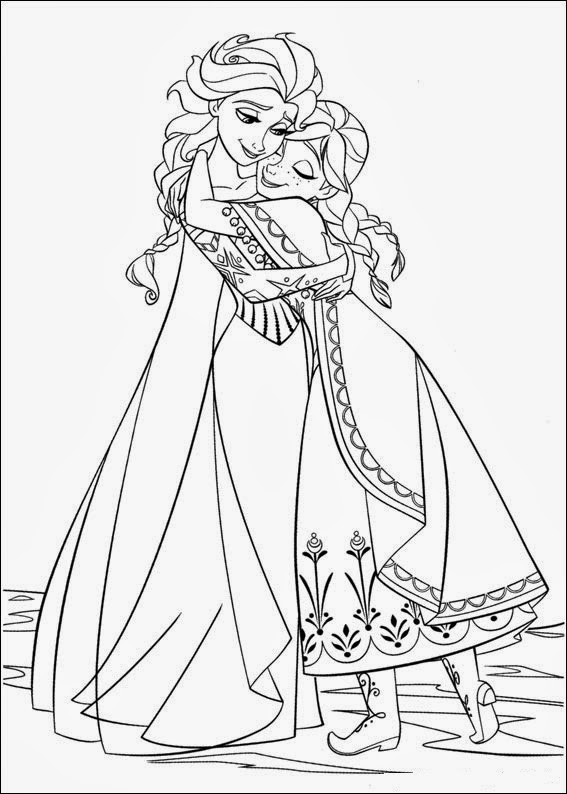 Colouring Pages Frozen Games : Fun coloring pages frozen