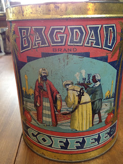 Antique Hunter Blog - Bagdad Coffee Tin
