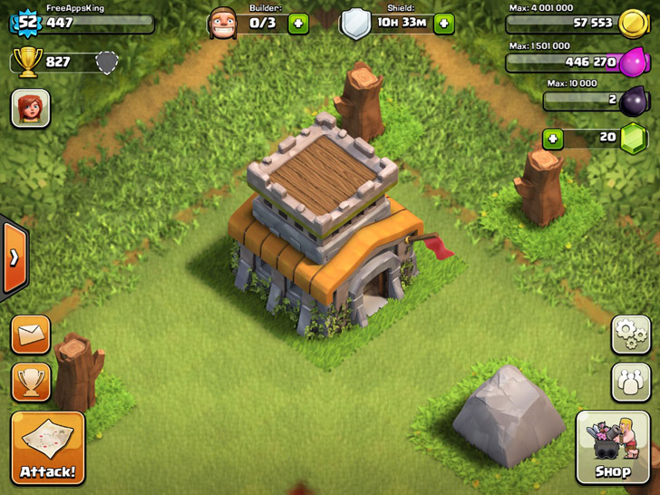 Town Hall - Buildings - Clash Of Clans Guide - FreeApps.ws