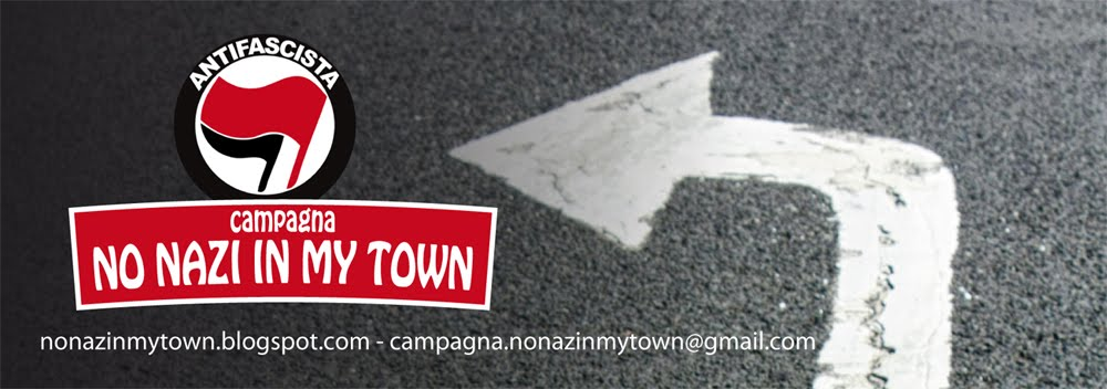 Campagna No Nazi in my town