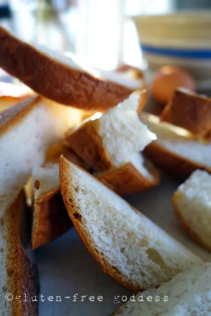 Gluten-free brioche- not exactly. Udi's hamburger buns!