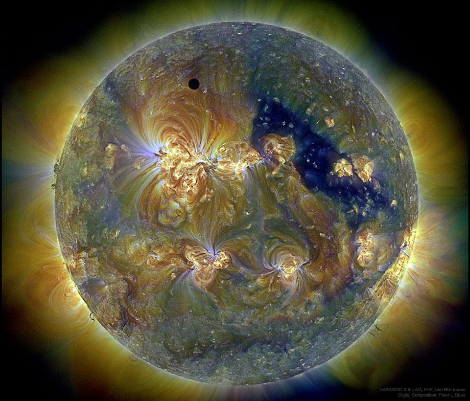 Sun, Venus, Ultra violet