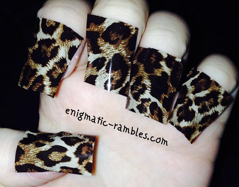 review-Born-Pretty-Store-BPS-bornprettystore-Leopard-Print-Nail-Foil-Foils-tutorial