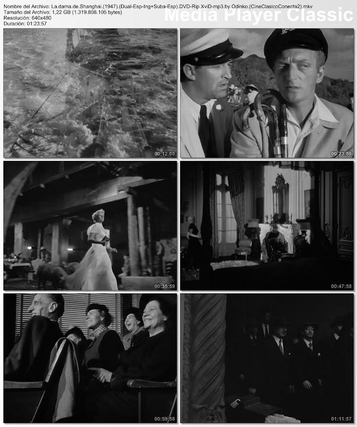 Capturas, imágenes, fotografías de la película: La Dama de Shanghai | 1947 | The Lady From Shanghai