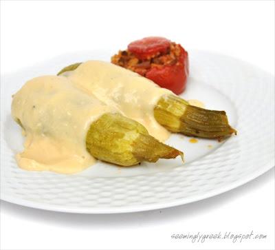 zucchini+1 Stuffed Zucchini