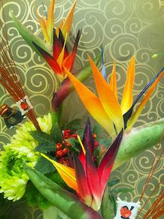ストレリ チア 造花