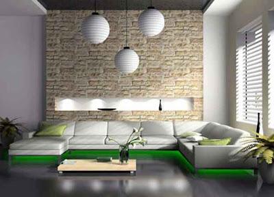 Desain Interior Ruang Keluarga Minimalis 03