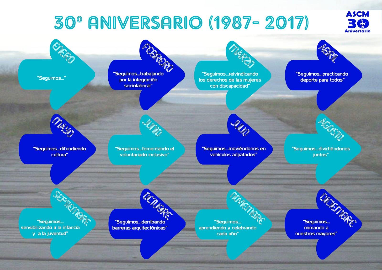 Calendario 30º Aniversario