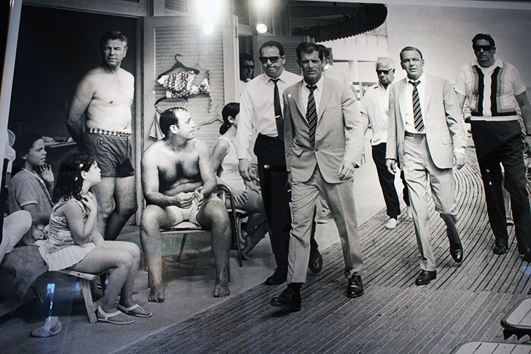 Terry O'neill photography at Art Basel, MBAB 2014, Sinatra