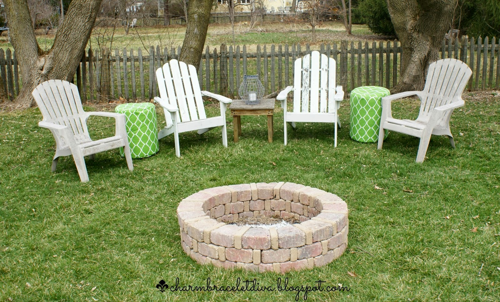 "Fire pit ""after"" photo"