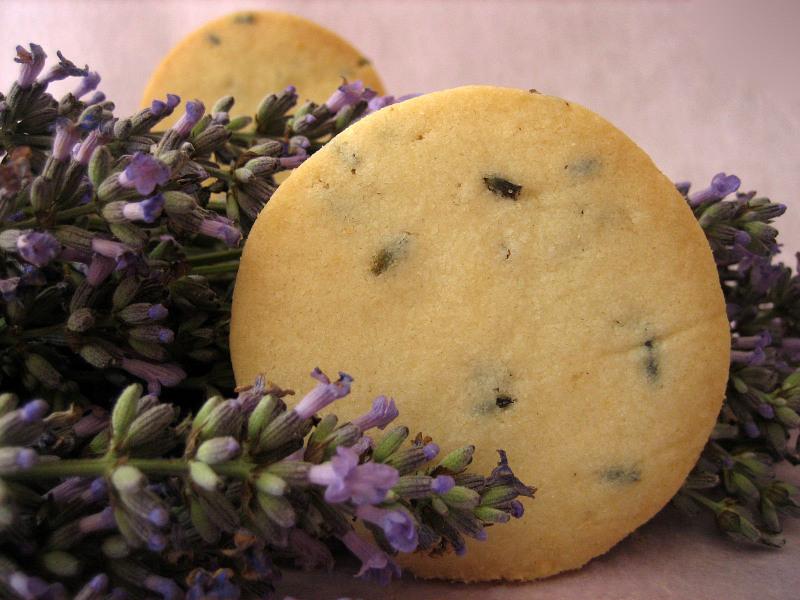 Recipe for lemon lavender cookies