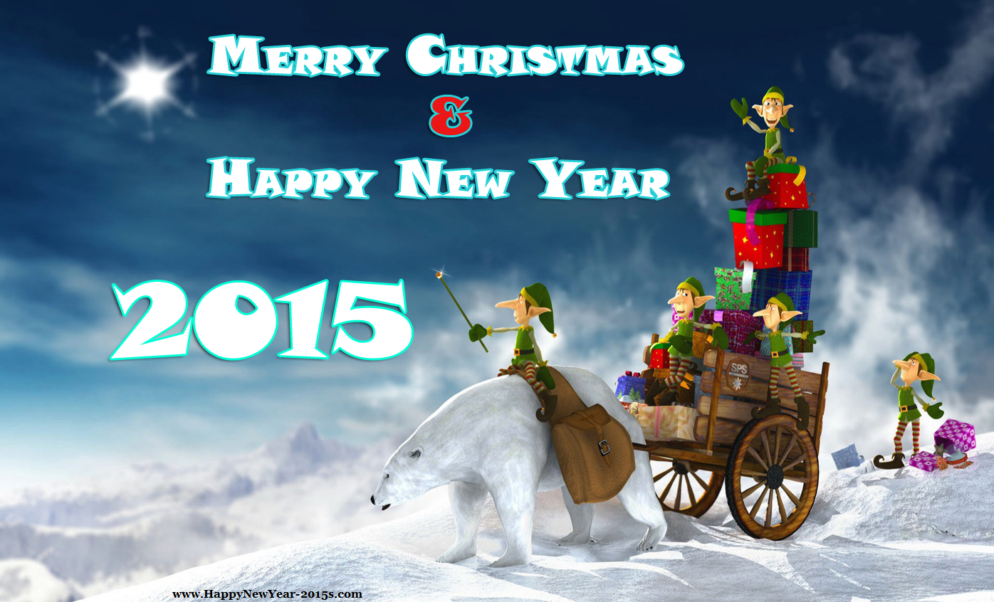 Christmas happy new year 2015