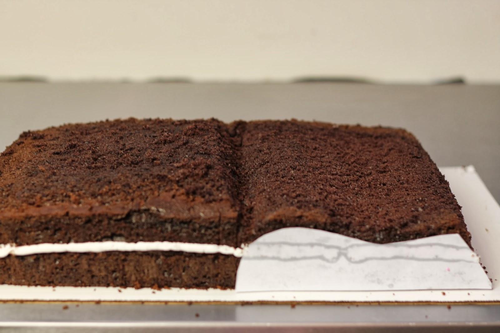 How To Make A Book Cake : Make me my cake book tutorial