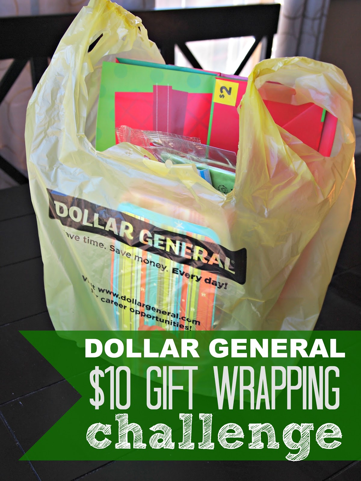 Ginger Snap CraftsHoliday Gift Wrapping on a Budget {Dollar General}
