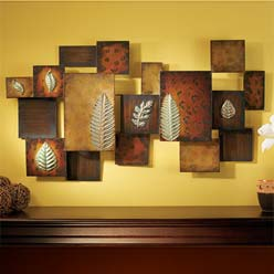 Outdoor iron wall decor
