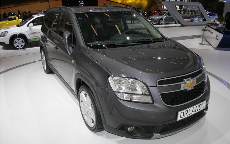 cars model 2012 2011 Chevrolet Orlando