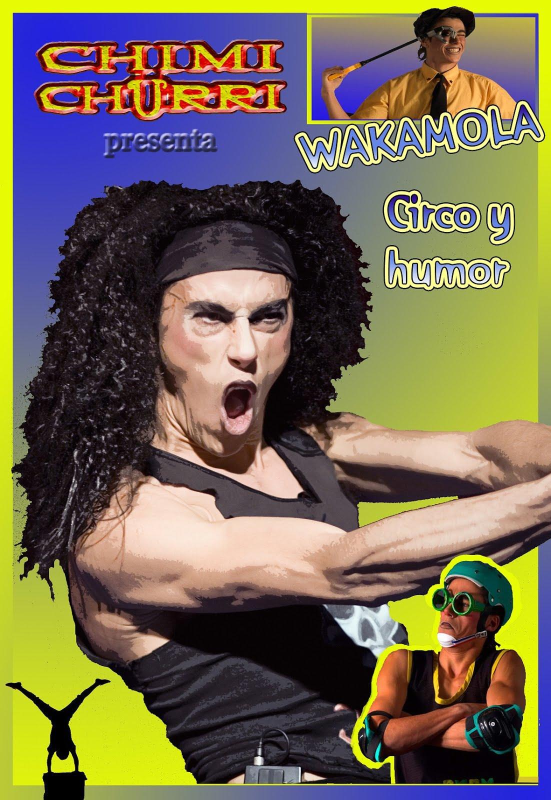 El espectáculo WAKAMOLA