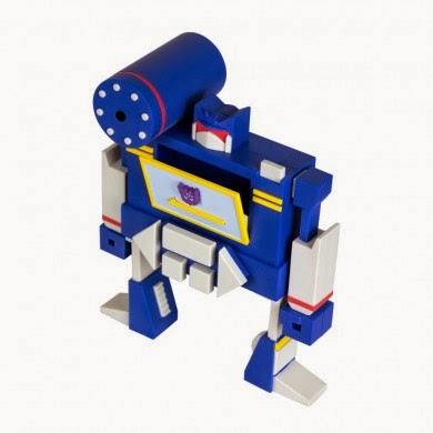Soundwave Transformers Vinyl Figure by WeLoveFine & Wade Schin