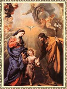JESÚS, MARÍA Y JOSÉ, SAGRADA FAMILIA