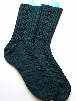Pattern: John Huston Socks by Rachel Coopey