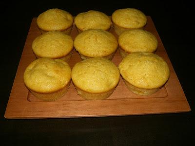 Bánh muffin cam 4