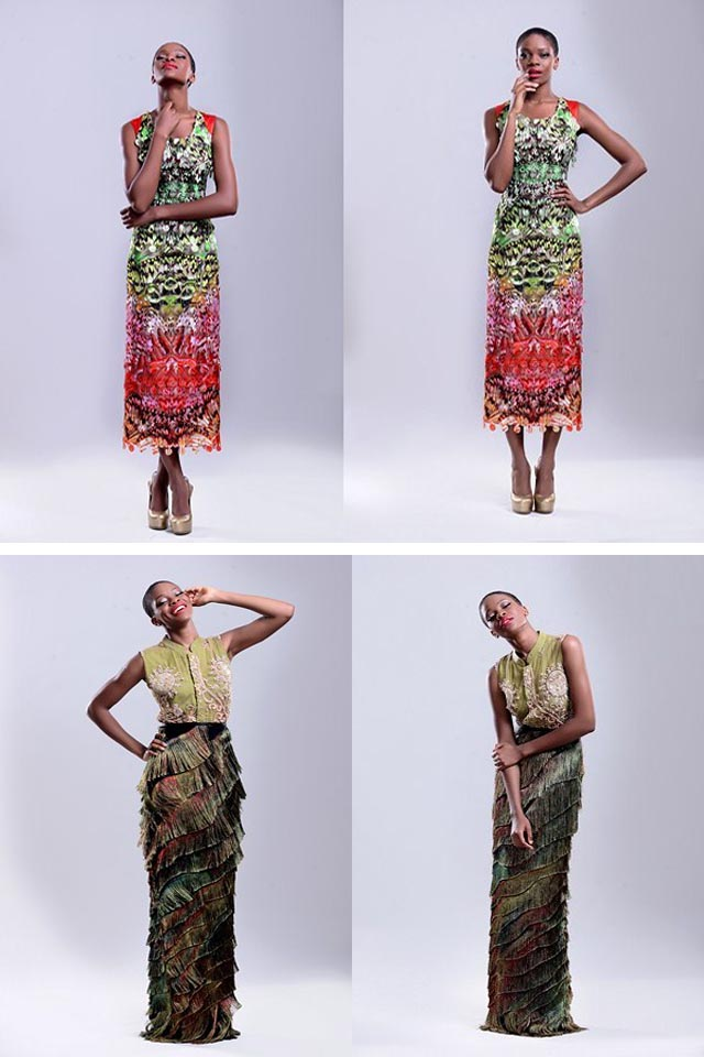 Lanre Dasilva Ajayi's Autumn/ Winter 2012/13 Lookbook