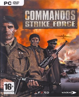 Commandos Strike Force Capa