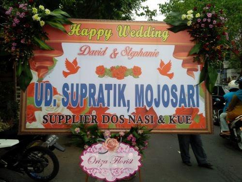 Bunga Papan Digital Printing Surabaya