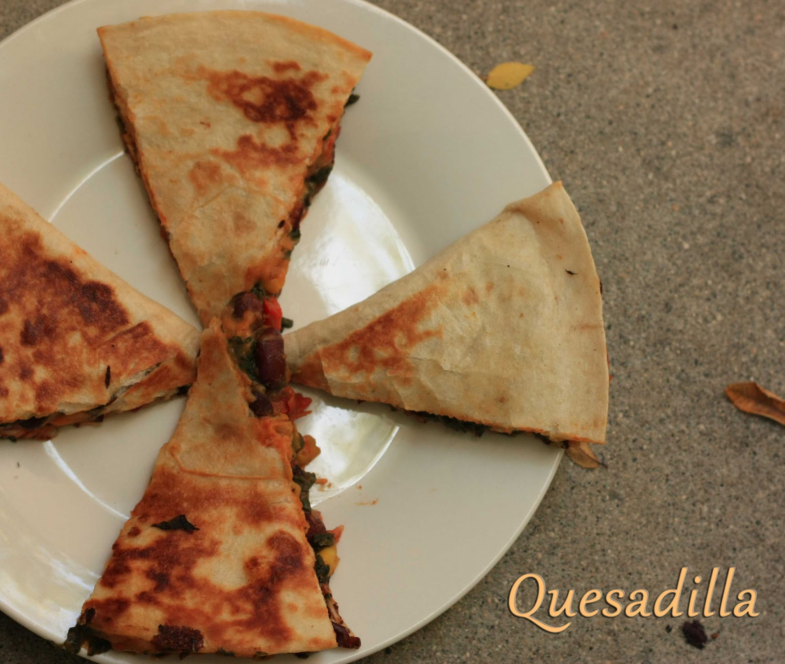 how to make a quesadilla on the stove